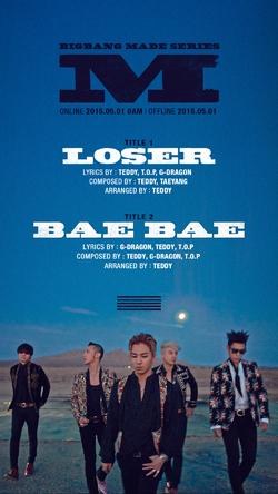 Big Bang - Loser et Bae Bae