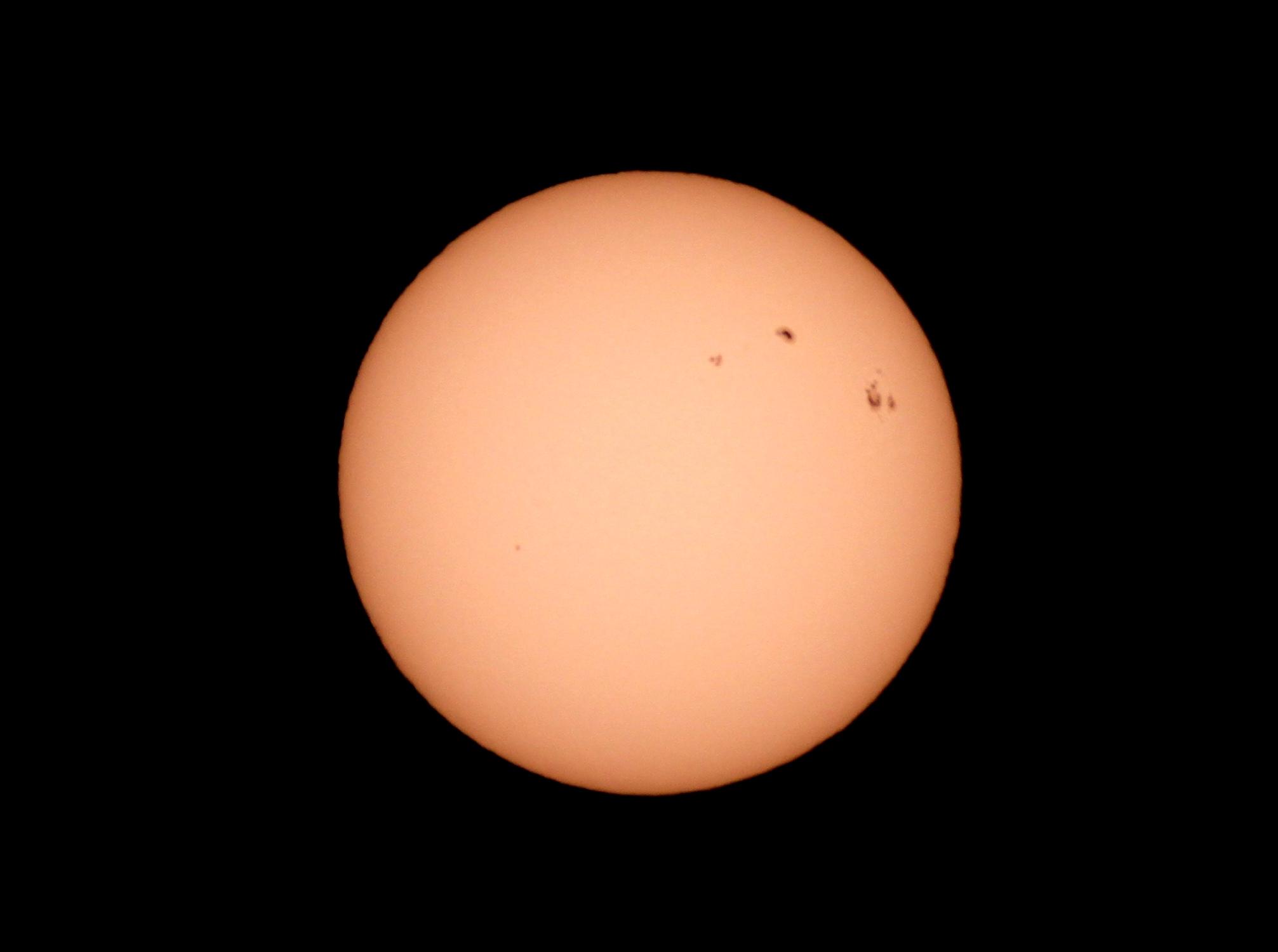 Soleil le 7 septembre 2017