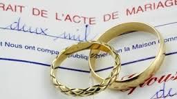 acte de mariage,effets du mariage,devoir de fidélité,conséquences mariage