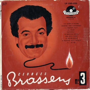 Georges Brassens, 1954 suite & fin