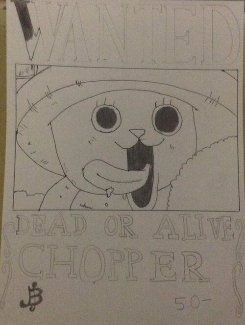 #ONE PIECE : Chopper WANTED