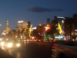 La Strip à Vegas.
