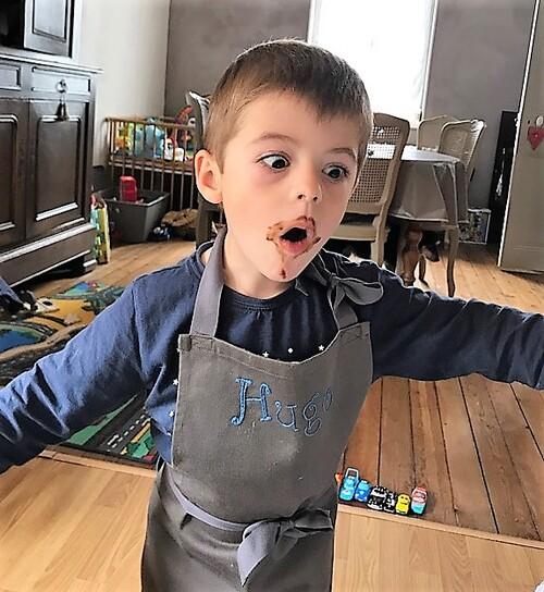 Tablier de cuisine enfant !