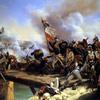 La Bataille du Pont d'Arcole peinture de Horace Vernet
