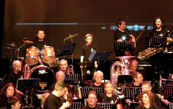 """Le concert de la Lyre Châtillonnaise, """"La Lyre grand écrana remporté un grand succès !"""