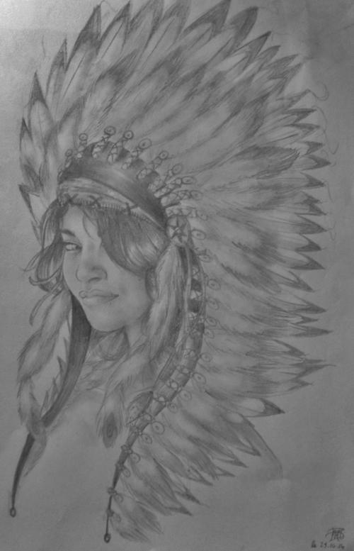 • Autoportrait au crayon à papier (wesh encore)