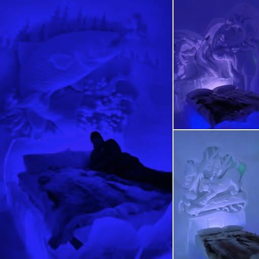 Visite des dômes de glace