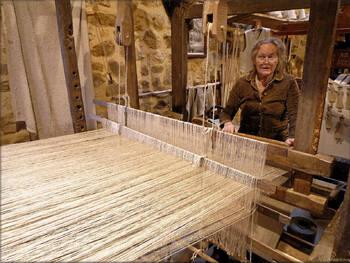 Filage et tissage du lin (Vieux métiers d'Argol)