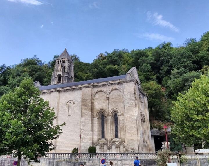 Abbaye Brantôme.