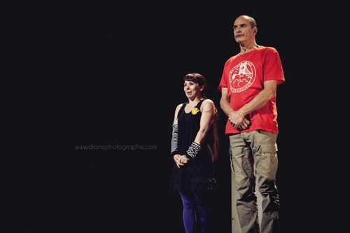 Le spectacle Pierre et Léa au théâtre de Cahors