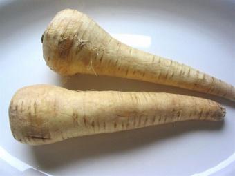 Gratin de panais, carottes et oignons