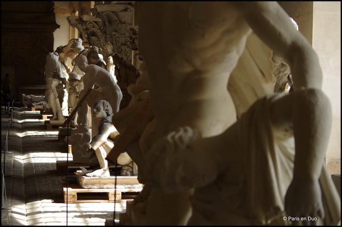 La Galerie des moulages - Versailles
