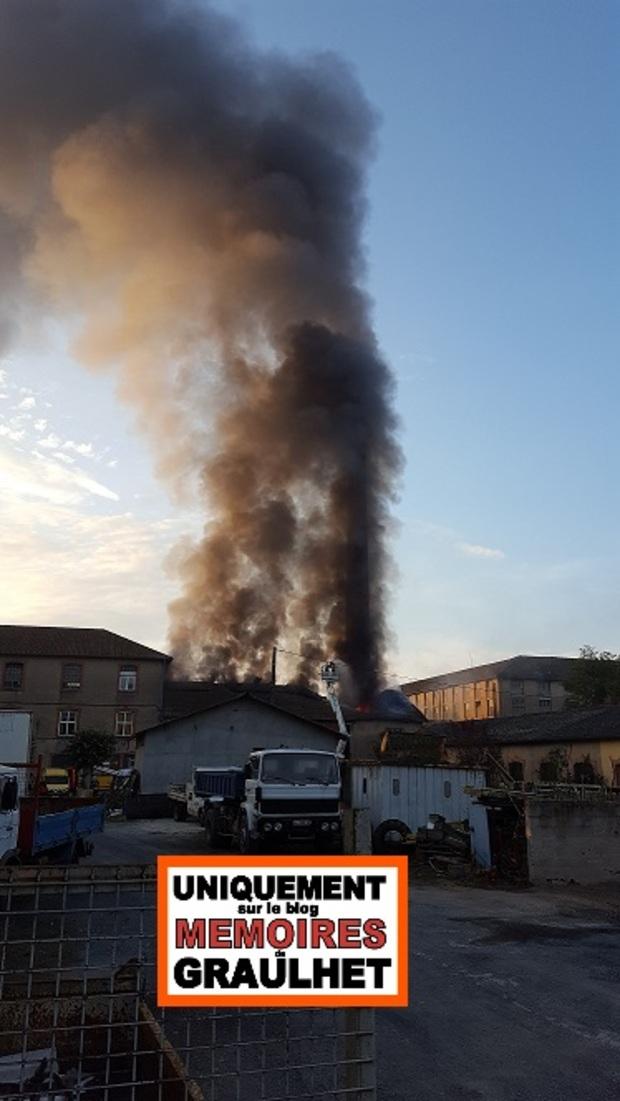 - L'Usine du Rey - Incendie du 20/09/2016