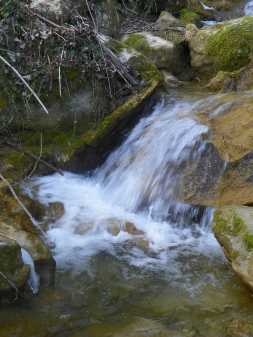 Cascade du ruisseau du Pointay