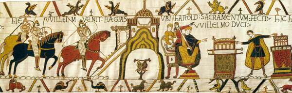 The Bayeux Tapestry: audioguides