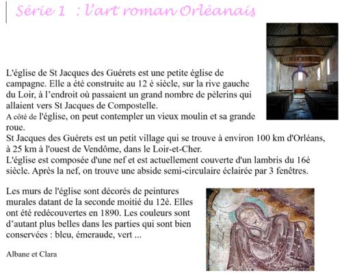 L'art roman orléanais