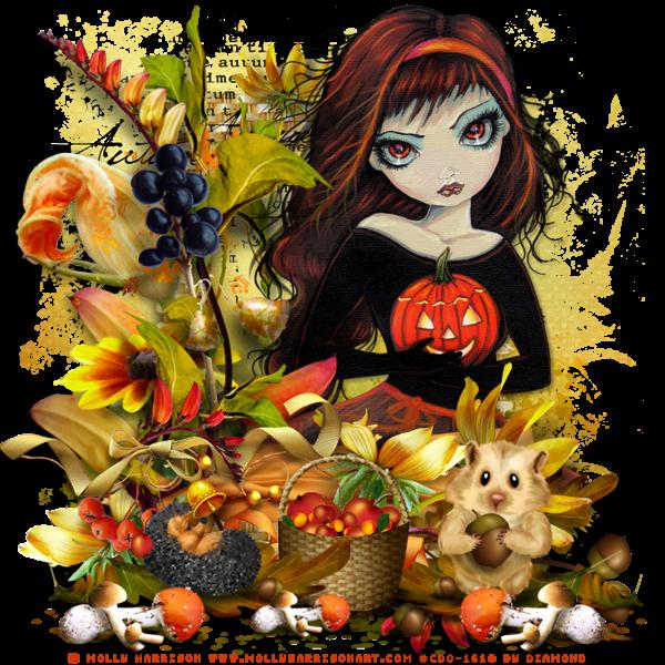 """Tutoriel """"Autumn Tale"""" de Chrisje"""