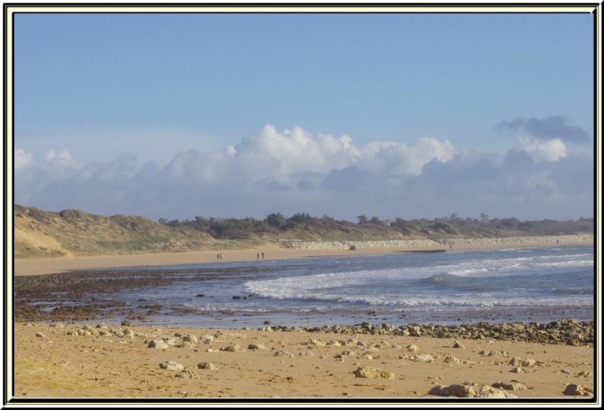 la plage des sables vigniers  île d'oléron