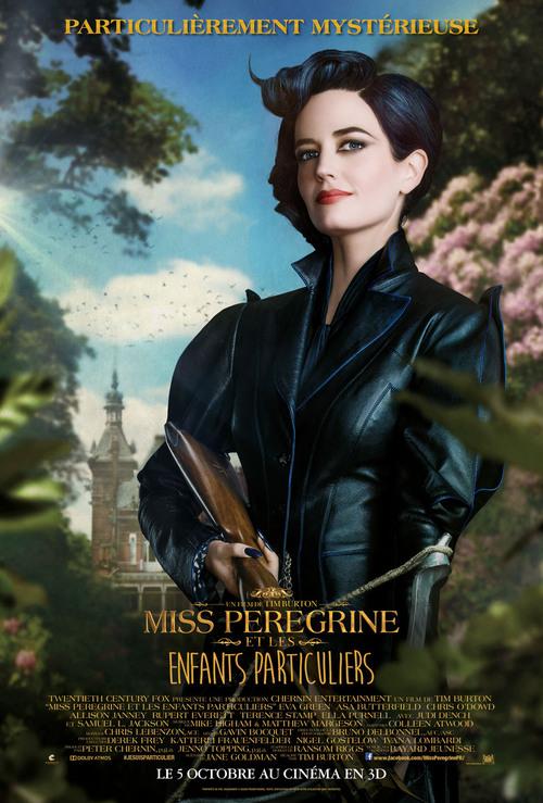 """""""Miss Pérégrine et les enfants particuliers"""" un film trop longuet et décousu, décevant : 12/20"""