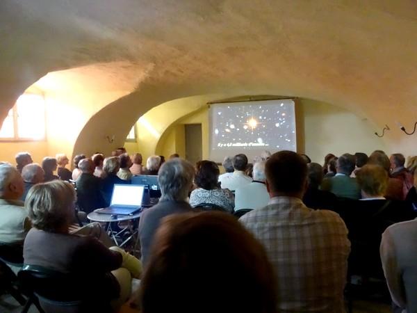 """Lors d'un """"Après-midi à la Commanderie"""", Jean Ponsignon a présenté deux superbes audiovisuels sur les beautés du Châtillonnais"""