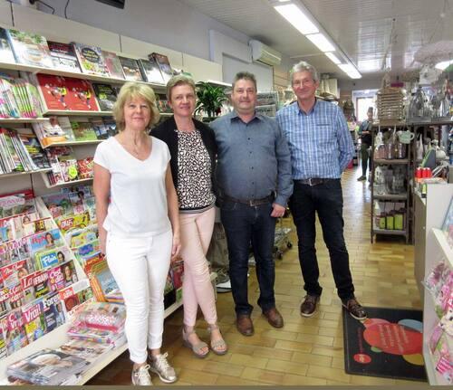 La librairie papeterie de la place de Bohan est reprise