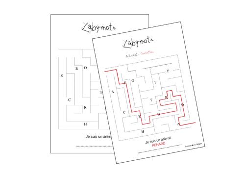Laby-mots - CE1 et Cycle 3