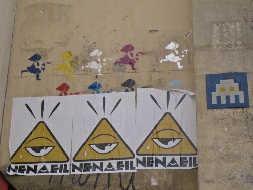 Mimi Cracra street-art Nena