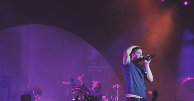 Imagine Dragons en concert, un show à leur image !