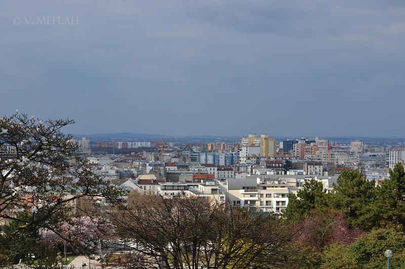 Parc de la Butte du Chapeau Rouge, 19ème arrondissement : Un petit «havre de paix»