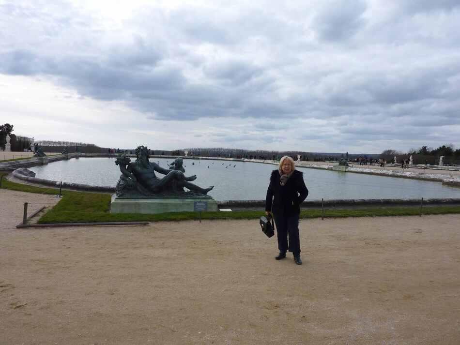 Visite rapide des jardins de Versailles.