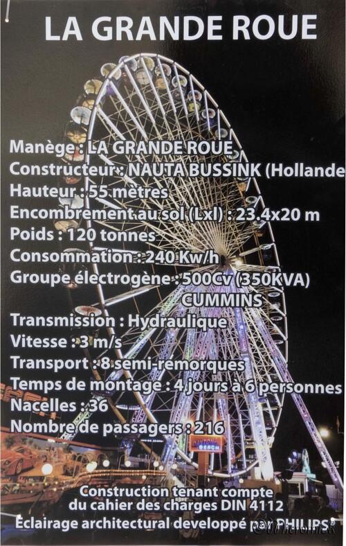 La grande roue à Clermont ferrand
