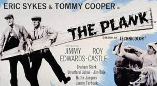 THE PLANK (1979  tv Version)  (Humour)