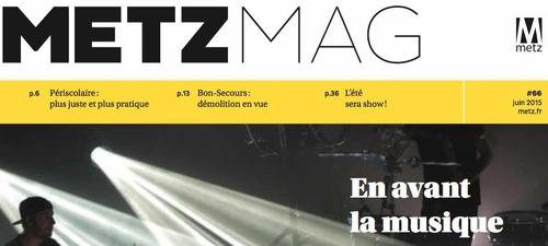 Metz Mag  de juin 2015