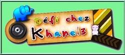 Recette pour Khanel