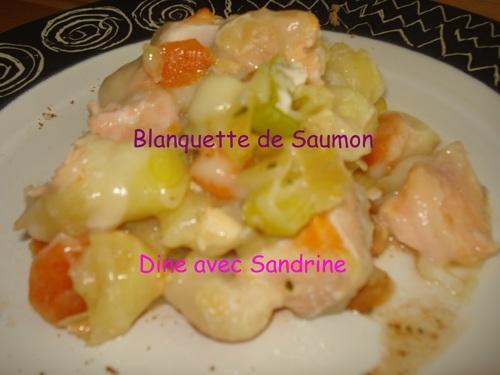 Une Blanquette de Saumon