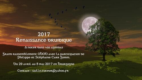 Célébration des 300 ans de la renaissance druidique - Beltaine 2017