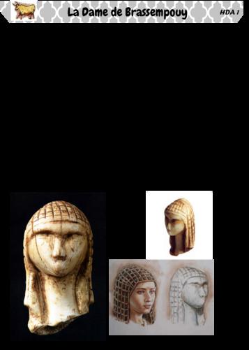 Art Préhistorique: la Dame de Brassempouy