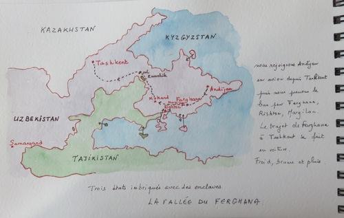 Ouzbékistan, carnet de voyage, fin
