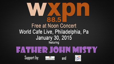Coup Double : Father John Misty - I love you Honeybear(2015) + World Café Live 30 janvier 2015