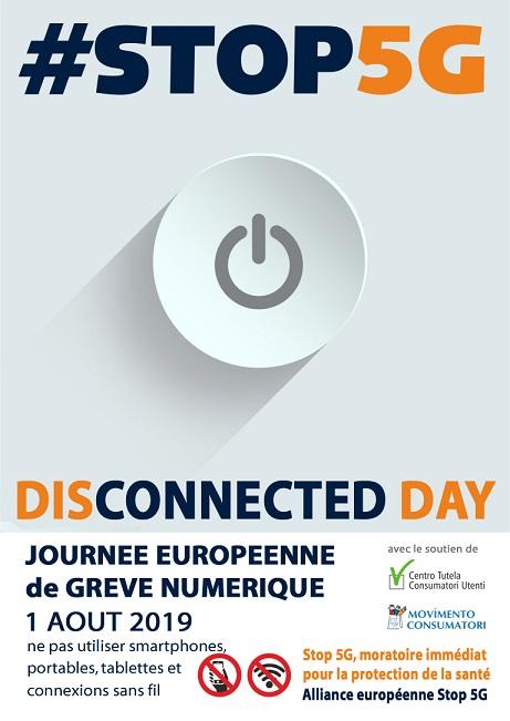 L'alliance Européenne STOP 5G propose la grève numérique !