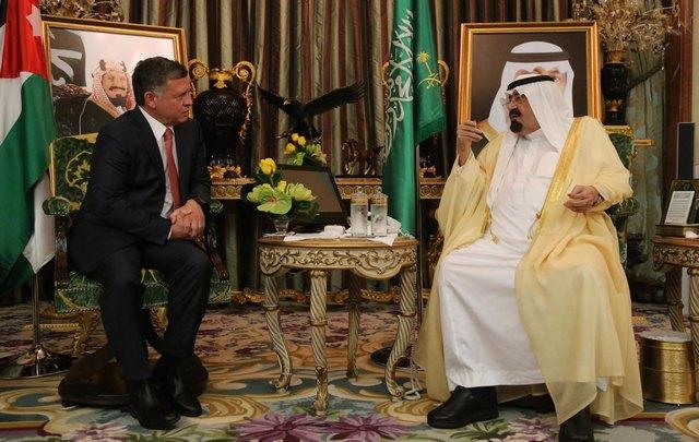 Le roi en Arabie Saoudite
