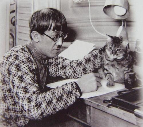 Les peintres et leur(s) chat(s)