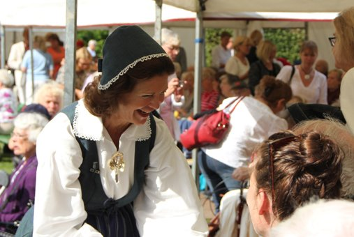 Silvia à la journée traditionnelle