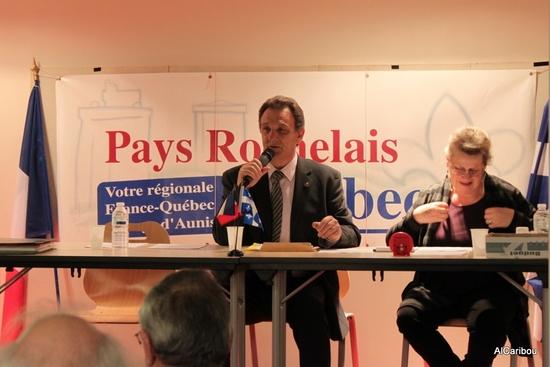 Christian Rouvreau, président de PRQ, et Michèle Coly, vice-présidente