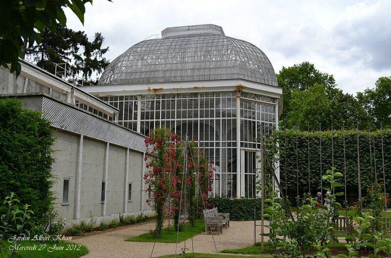 Jardins Albert Kahn : La Roseraie