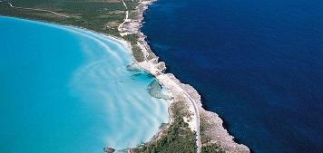 Une bande de terre qui sépare deux océans ...