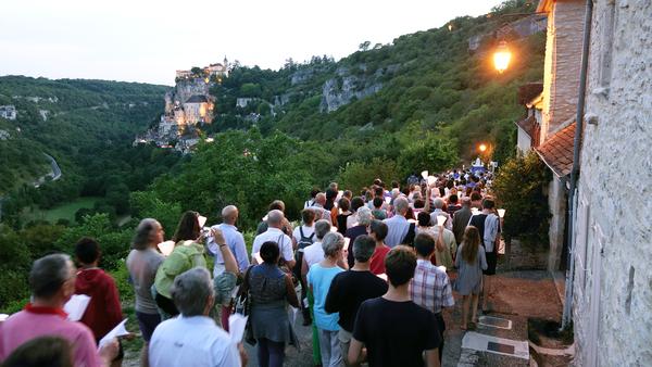 Procession du 14 août au soir et messe de la Vigile
