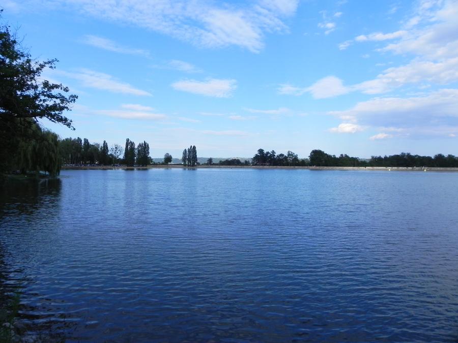 L'étang de Sault à Montluçon