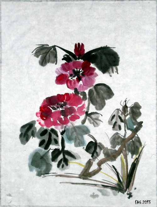 Peinture chinoise....