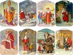 """Cartonnettes """" St Nicolas """""""